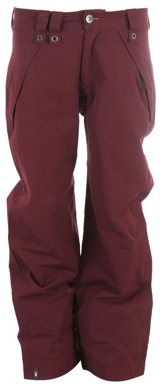 Bonfire Seymour Snowboard Pants Brick Mens | eBay