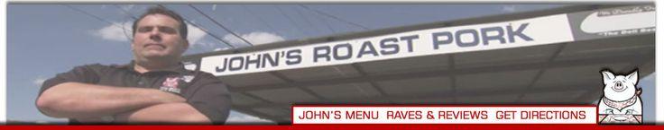 John's Roast Pork - Best Cheese Steaks & Roast Pork Sandwiches in Philadelphia  14 E. SNYDER AVENUE - SOUTH PHILADELPHIA  (ACROSS FROM SNYDER PLAZA)  215-463-1951