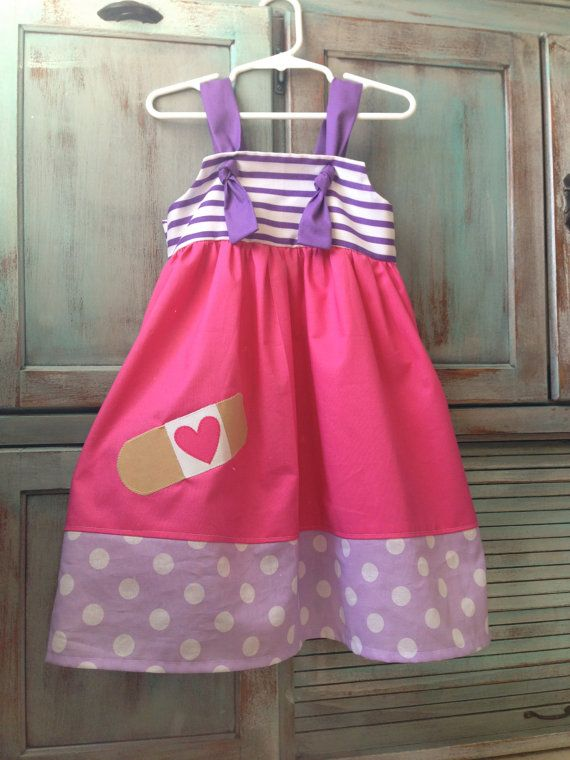 doc mcstuffins outfit | Add it to your favorites to revisit it later. OH MY WORD!!!!!! @Annie Miller could you possibly make this for miss Sadie I can give you cash this weekend to find fabric..we can get Sadie's measurements this weekend.. oh I love.. doc mcsadie kaech.. :)
