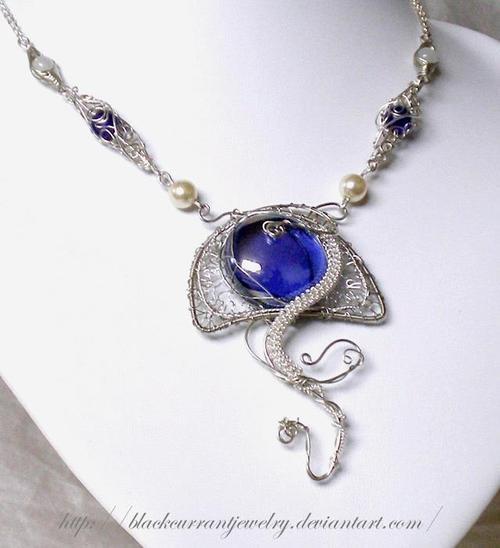 Elf dragon jewelry