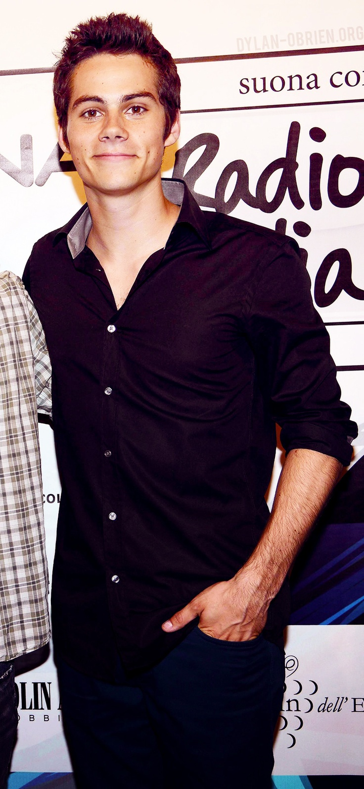 Dylan O'Brien  I love his dimples <3