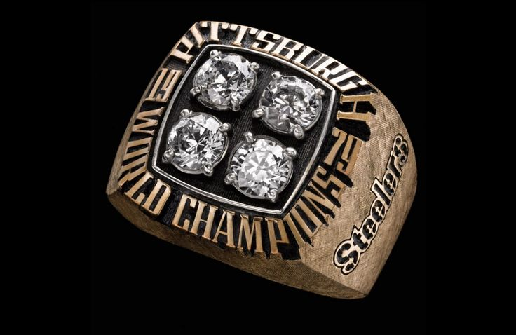 Super Bowl XIV - Pittsburgh Steelers | 48 Mind Blowing Photos Of Every Super Bowl Ring Ever