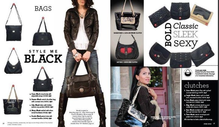 Bag inspirations from the line's 2012 Catalog!  www.stylebagstyleme.com