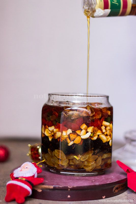 How to soak Dry Fruits for Rich Fruit Cake