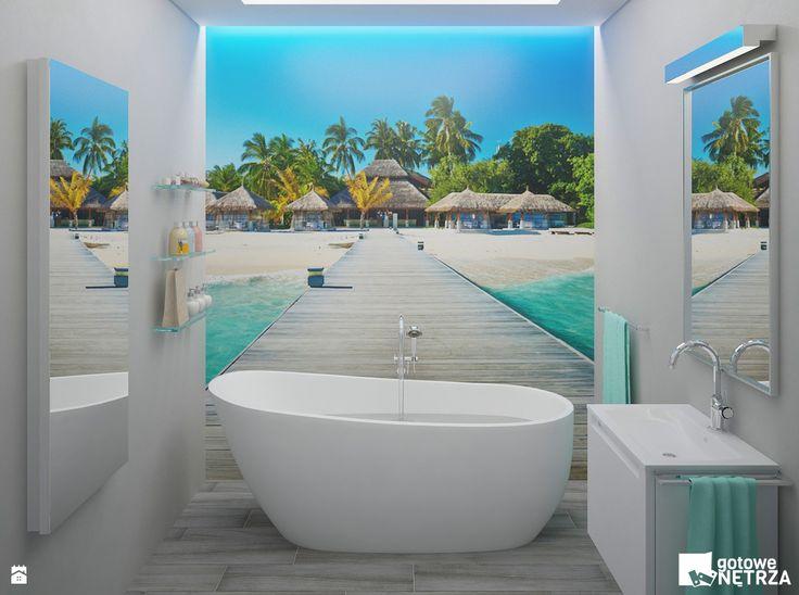 Łazienka Maledives - Łazienka - Styl Nowoczesny - Gotowe Wnętrza