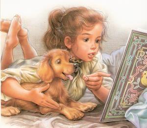"""Martine & her dog Patapouf always go for new adventures.  """"I enjoy the first to the last page, whether writing or drawing I keep my child's soul.""""  -- Artist Marcel Marlier  (Martine et son chien Patapouf toujours partent pour de nouvelles aventures .  (""""Je savoure de la première à la dernière page , que se soit l'écrit ou le dessin j'ai garder mon ame d'enfant."""")"""
