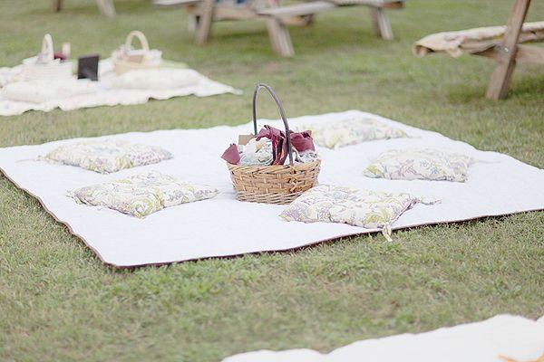 Wedding Rehearsal Dinners: 5 Ideas We Love on Borrowed & Blue.  Photo Credit: Simply Bloom Photography via Southern Weddings