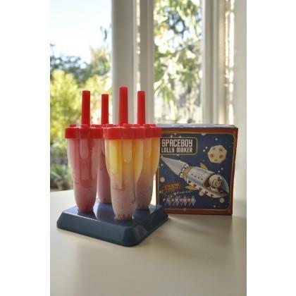 Spaceboy Rocket Icy Pole Makers at pookiedookie