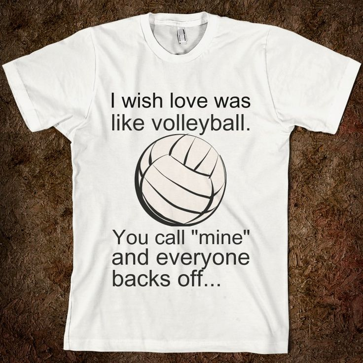 Love like Volleyball