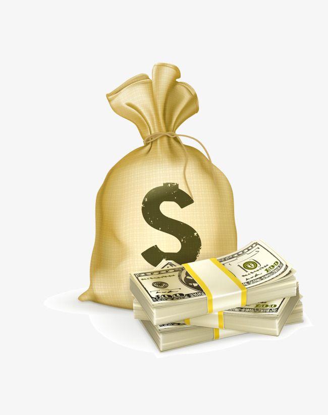 أكياس النقود ناقل حقيبة المال حقيبة المال كليب الدولار Money Bag Bags Coffee Bag