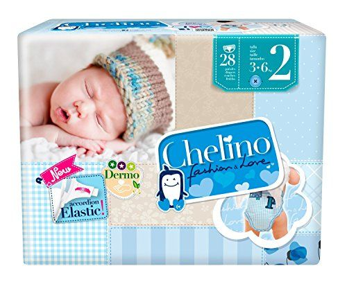 Chelino - Pañales talla 2 (3 28 Pañales - Pack de 6 (Total 168 Pañales) Mas info: http://www.comprargangas.com/producto/chelino-panales-talla-2-3-28-panales-pack-de-6-total-168-panales/