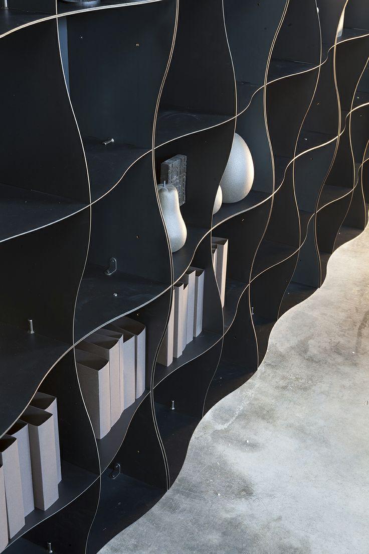 Iron-ic by Ronda Design #modular #metal #bookcase