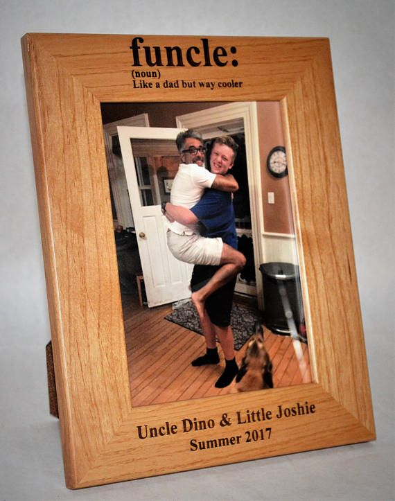 4x6 Laser Engraved Wooden Picture Frame Custom Picture Frame