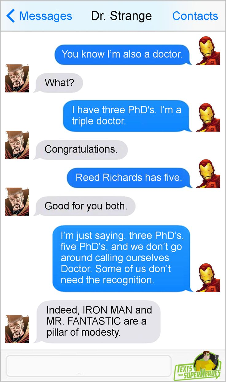 Texts From Superheroes Facebook | Twitter | Patreon (Check out our Dr. Strange podcast right here!)