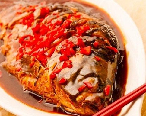 Carp in soy sauce (Chinese cuisine) | Easy recipes.