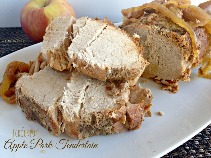 apple pork tenderloin