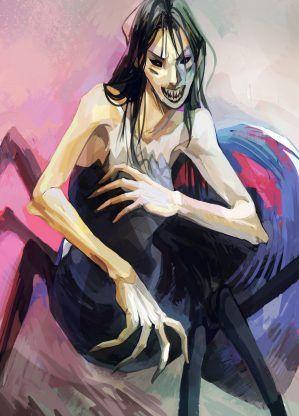 Arachne – Rick Riordan | art by viria