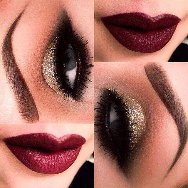 Para Completar El Look Maquillaje Para Navidad Y Fin De
