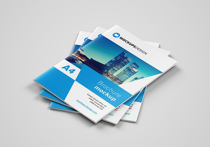 Free A4 Brochure Mockup Mockups Design Free Premium Mockups Brochure Mockup Free Brochures Mockups Brochure Mockup Psd Free