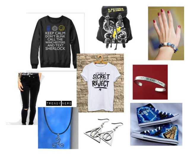 """""""Fandom Street Style"""" by trendy-nerd on Polyvore"""
