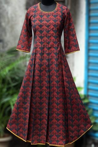 box pleat dress - ruby love & indigo dust