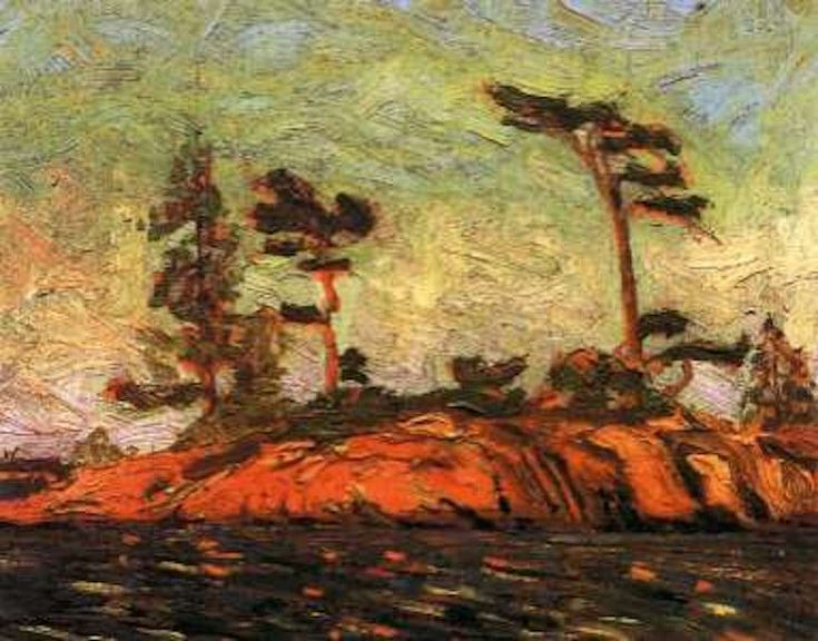Tom Thomson Split Rock Georgian Bay