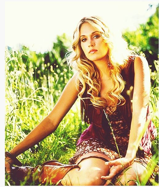 Such a beautiful picture of Carrie... Love it!
