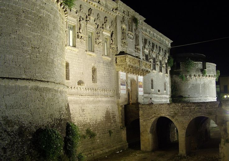 Castle of Corigliano d'Otranto (Lecce), Puglia, Italia