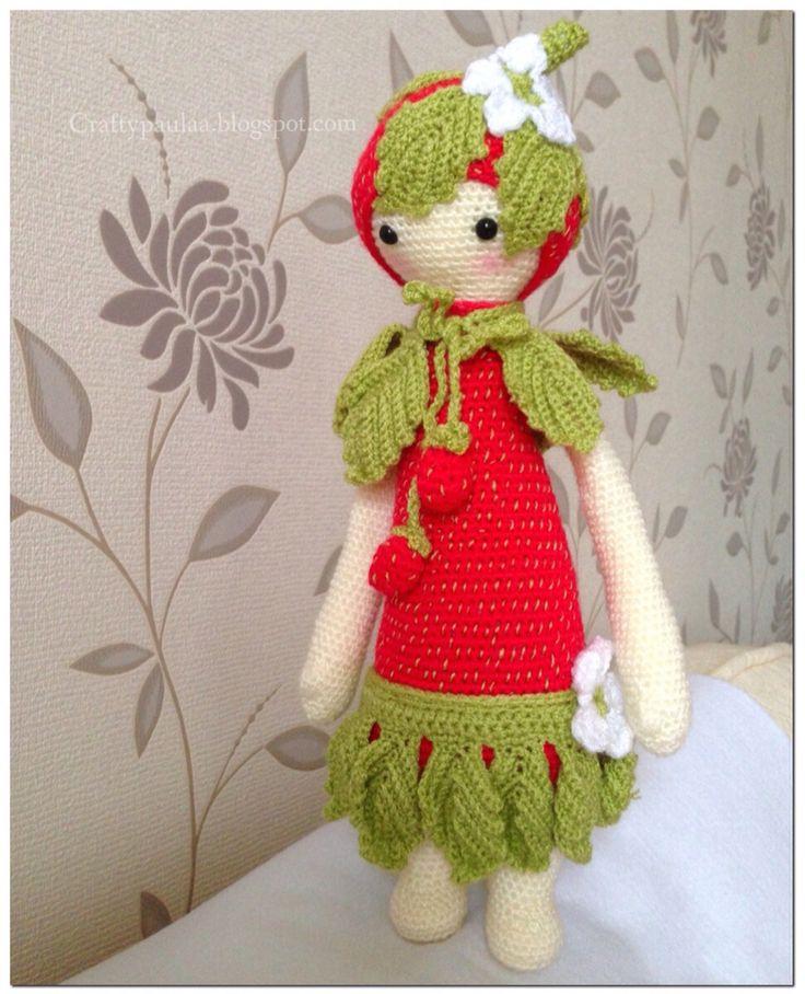 Amigurumi Dolls By Artist Lydia Tresselt : 17 Best images about Haken : Lalylala inspiratie on ...