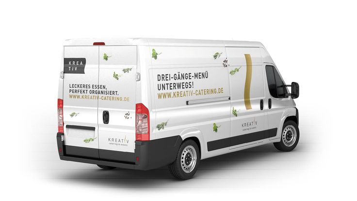 MILK Pitch Design für KREATIV CATERING: Pitch Layouts Corporate & Packaging, Web Layout.
