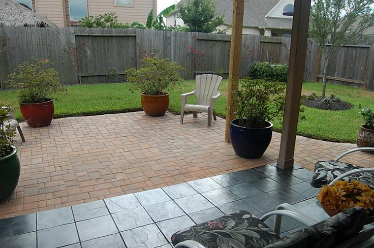 Adding pavers to extend existing patio google search for Patio extension designs