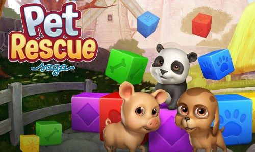 Game Penguras Baterai Smartphone Android - Pet Rescue Saga