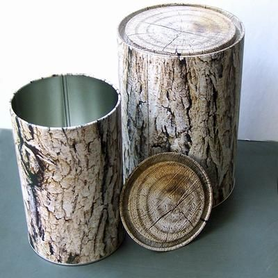 Metal containers that look like wood? Yes, please! (Relieved to know that 155KR is only about 23USD)