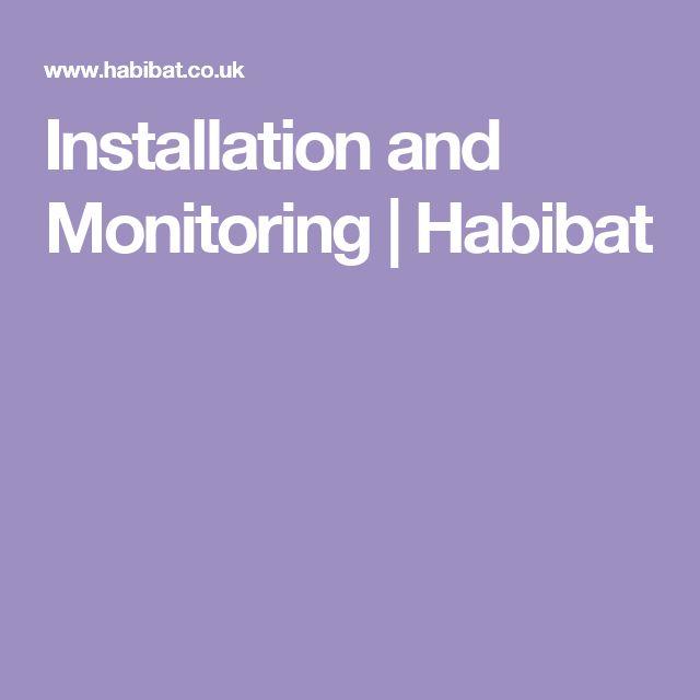 Installation and Monitoring | Habibat