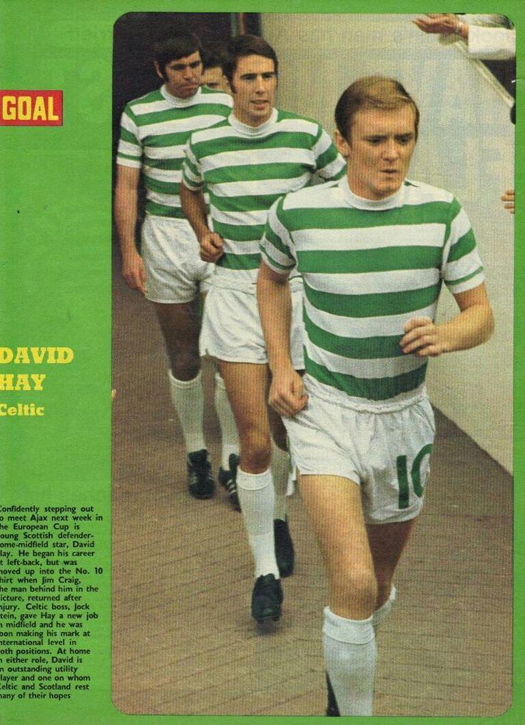 David Hay of Celtic in 1971.