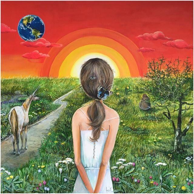 """Second earth"" #acrylic #canvas #painting #contemporaryart #art"