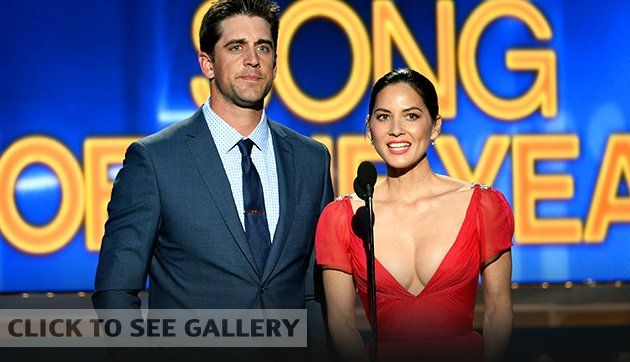 Aaron Rodgers and Olivia Munn celebrate Wisconsin's advance to Elite Eight | The Dagger - Yahoo Sports