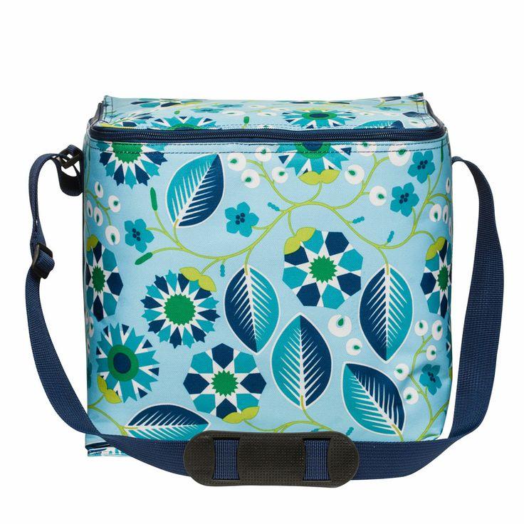 Blue Oasis Cooler bag, Large, Sagaform #picnick #coolerbag #summer #outdoor #sommar #design #royaldesign #bag