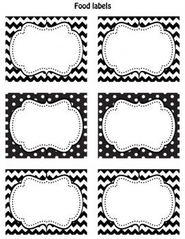 necklace jewellery FREE Black  amp  White Printable Labels  Going to use these on my organizing bins that I cannot see directly into