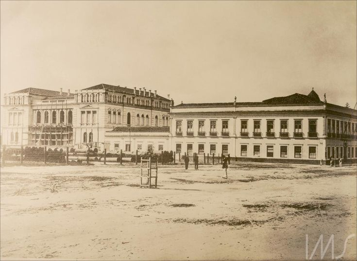 Álbum Fotografias de São Paulo 1900 - Escola Politécnica Anônimo (1893 circa)