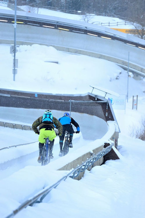 "New 2014er Radon Slide 130 29 ""- photo shoot in the #Winterberg bobsleigh at mountainbike-magazin.de"