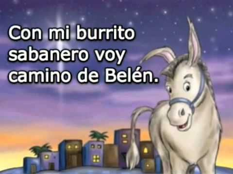 El burrito sabanero (versión de Juanes) My students are seriously in love with this song. It's become part of our classroom holiday traditions