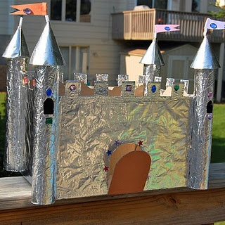 cardboard castle and tons of other ideas!