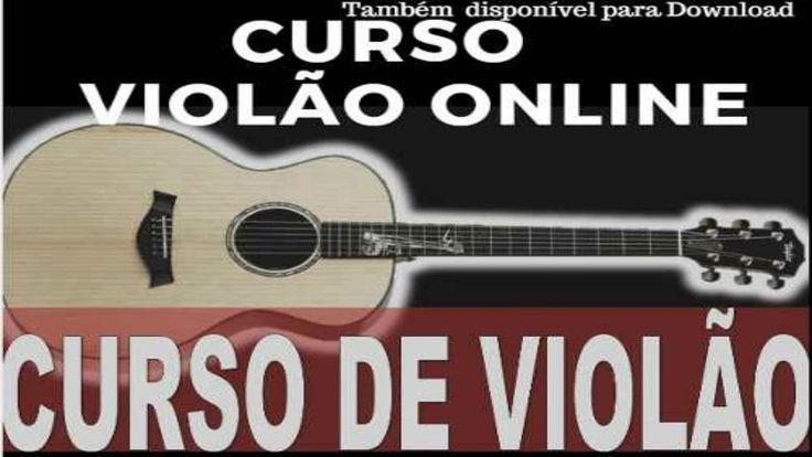 Curso de Violão online   16 vídeo aulas