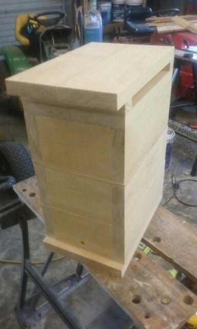Native Beehive natural finish