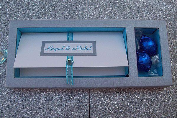 Ref Box Michel (we can do any colour) www.weddingcards.co.za