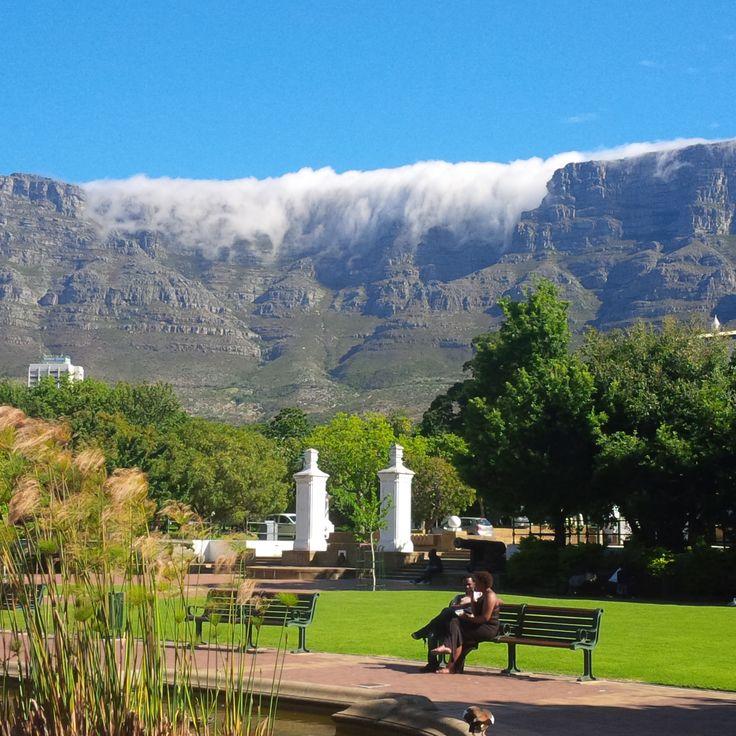 Company Gardens and Table Mountain