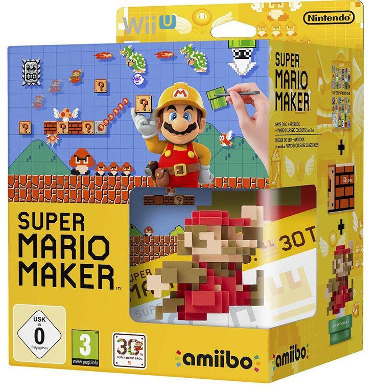 Super Mario Maker + Amiibo Super Mario Bros. rouge - WII U - Acheter vendre sur Référence Gaming