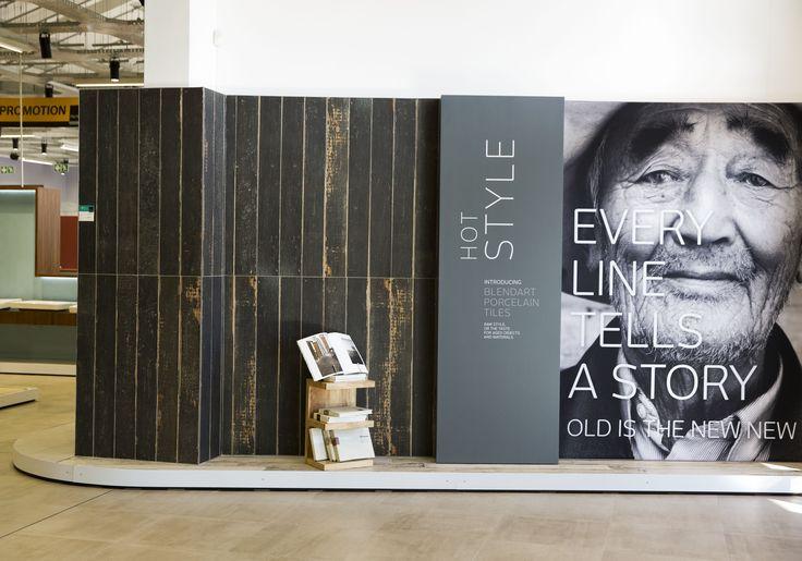 Italtile Summerset West #showroom in South Africa.  #CeramicaSantAgostino #designtiles #design #tiles #interiordesign #interiors #gres #ceramic