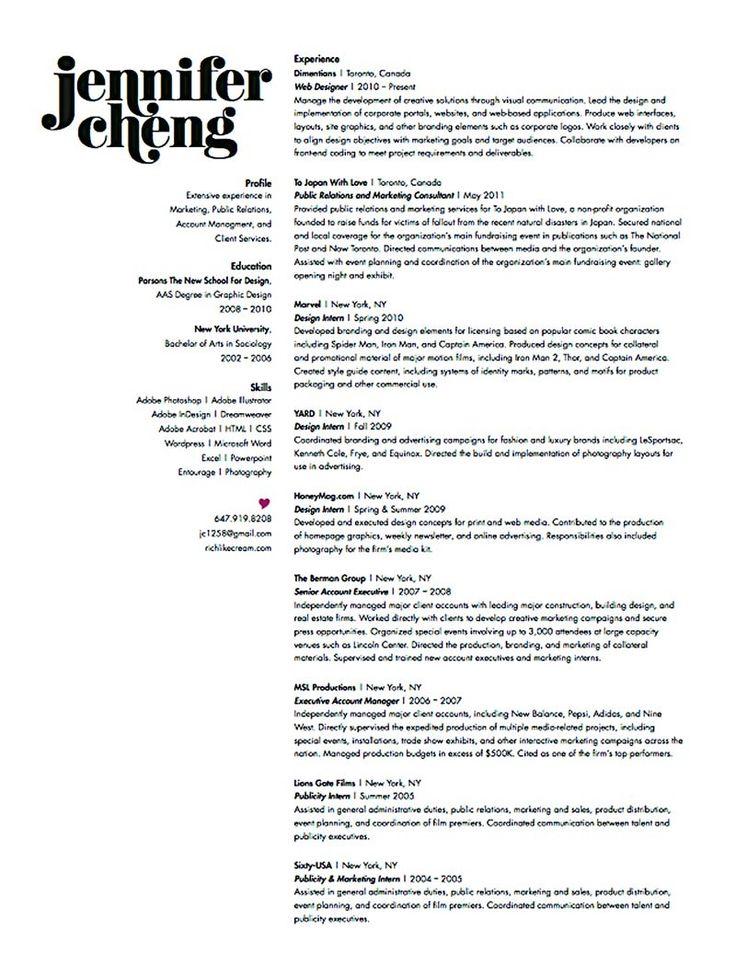 graphic designer resume summary examples